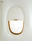 Airplane window Royalty Free Stock Photo