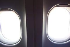 Airplane Windows Inside Stock Photos
