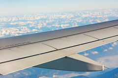 Airplane Wing Part Stock Image
