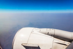 Airplane wing Stock Photos
