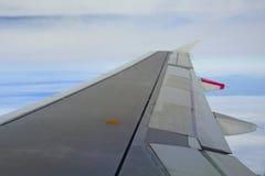 Airplane wing Stock Photos