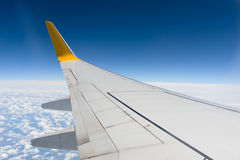 Airplane wings Stock Photos