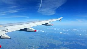 Airplane Wings Stock Images