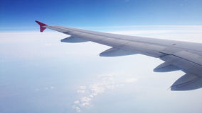 Airplane Wings Stock Photography