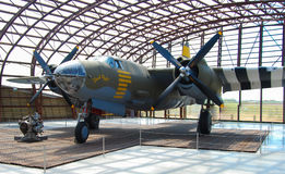 Airplane World war II Stock Image