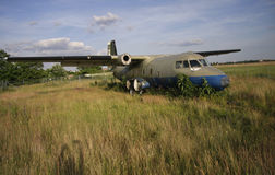 Airplane wreck Royalty Free Stock Photography