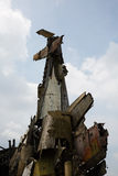 Airplane wreckage Royalty Free Stock Photography