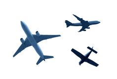 Airplanes. Various Airplanes Stock Photography