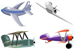 Airplanes 2 Stock Image