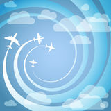 Airplanes Royalty Free Stock Images