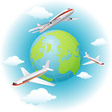 Airplanes Royalty Free Stock Photo
