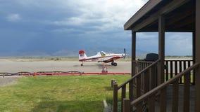 Airplanes. Battle Mountain tanker base Nevada Stock Photos