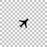 Airplanes icon flat vector illustration