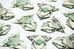 Airplanes of money Stock Photo