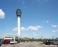 airpor kontrolny Indianapolis zawody międzynarodowe wierza Obrazy Stock