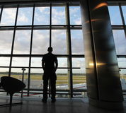 In airport Royalty Free Stock Photos