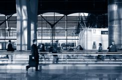 Airport. Waiting lounge photo (duotone image royalty free stock images