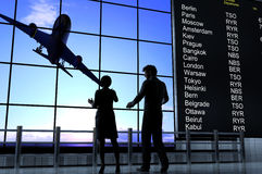 The airport Royalty Free Stock Image