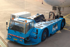 Airport. A plane is prepared for its flight from Amsterdam to Chengdu (China Stock Photography