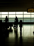 At the Airport Royalty Free Stock Photography