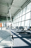 Airport. Waiting terminal on the airport Royalty Free Stock Photography