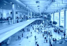 At airport Royalty Free Stock Photography