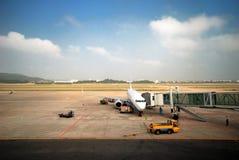 Airport. A scene at Wuyisha Airport, Fujian, China Royalty Free Stock Photography