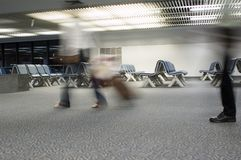 Airport. Waiting Royalty Free Stock Photos
