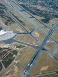 Airport Aerial Royalty Free Stock Photography