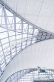 Airport architecture Stock Images