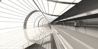 Airport Architecture Royalty Free Stock Photos