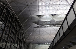 Airport architecture Royalty Free Stock Photo