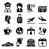 Airport & Aviation icon. Vector illustration Graphic Design stock illustration