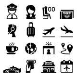 Airport & Aviation icon. Vector illustration Graphic Design Stock Photo
