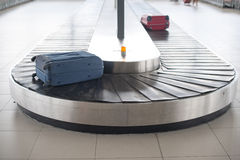 Airport baggage carousel Stock Image
