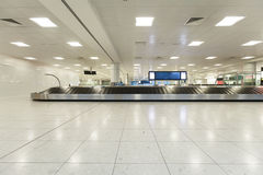 Airport baggage claim Stock Image