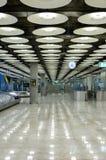 Airport Baggage claim stock image