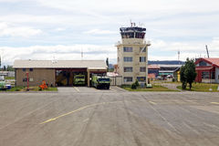 Airport of Balmaceda, Chile Royalty Free Stock Photography