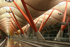 airport barajas international mad madrid Στοκ Φωτογραφίες