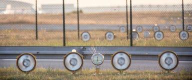 Airport beacon Stock Photo