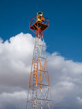 Airport beacon tower Stock Images