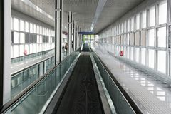 Airport Belt Walkway Stock Photos