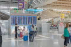 Airport blurred background stock image
