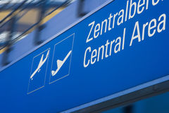 Airport board Stock Photos