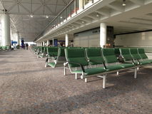Airport boarding area Royalty Free Stock Images