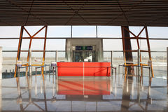 Airport boarding gate Stock Image
