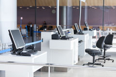 Airport boarding terminal ready for a passengers Stock Photography
