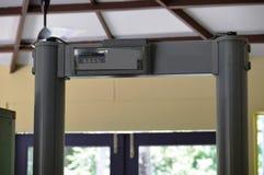 Airport Body Scanner Machine (Door Frame Metal Detector) Stock Photography