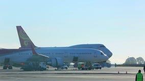 Airport stock video