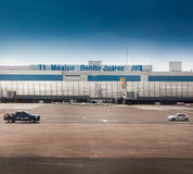 Airport building, Benito Juarez International Royalty Free Stock Photography